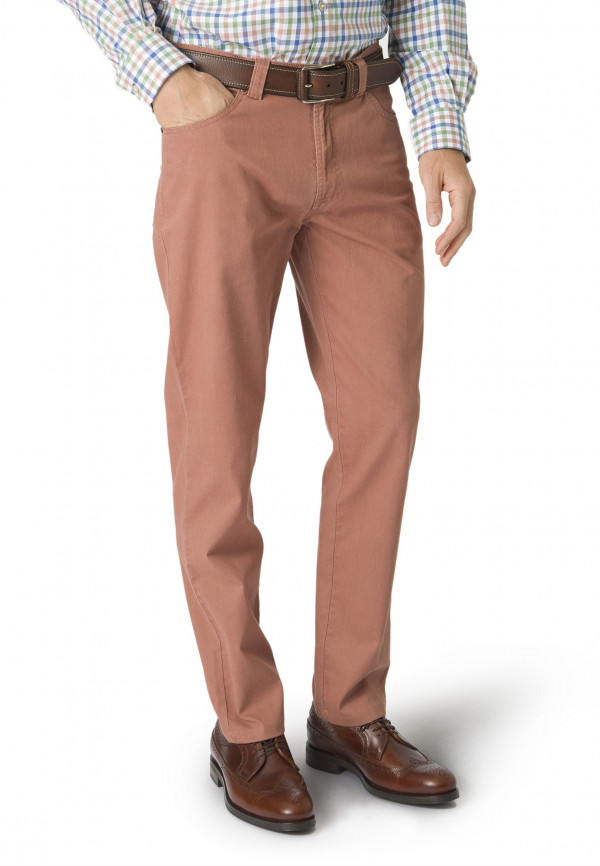 Terracotta Basildon Tailored Fit Trouser