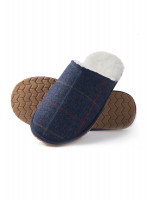 Haincliffe Tweed Slippers