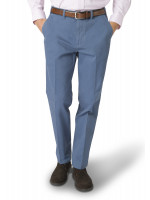 Ashdown Sea Blue Classic Fit Chino