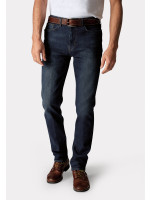 Vintage Blue Classic and Tailored Fit Denim Jeans