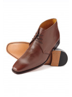Harrow Antique Tan Boot Leather Sole And Goodyear Construction