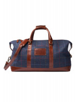 Holdall With Harris Tweed Trim