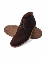 Aysgarth Brown Suede Desert Boot
