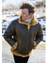 Aviator Sheepskin Jacket