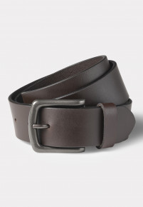 Hereford Brown Leather Jean's Belt
