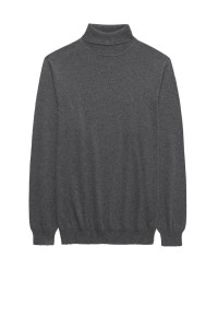 Grey Arrow Roll Neck