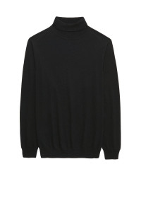 Black Arrow Roll Neck