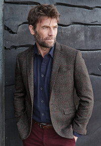 Gallacher Grey Herringbone Jacket