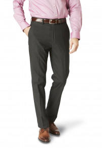 Dijon Charcoal Tailored Fit Three Piece Suit Trouser