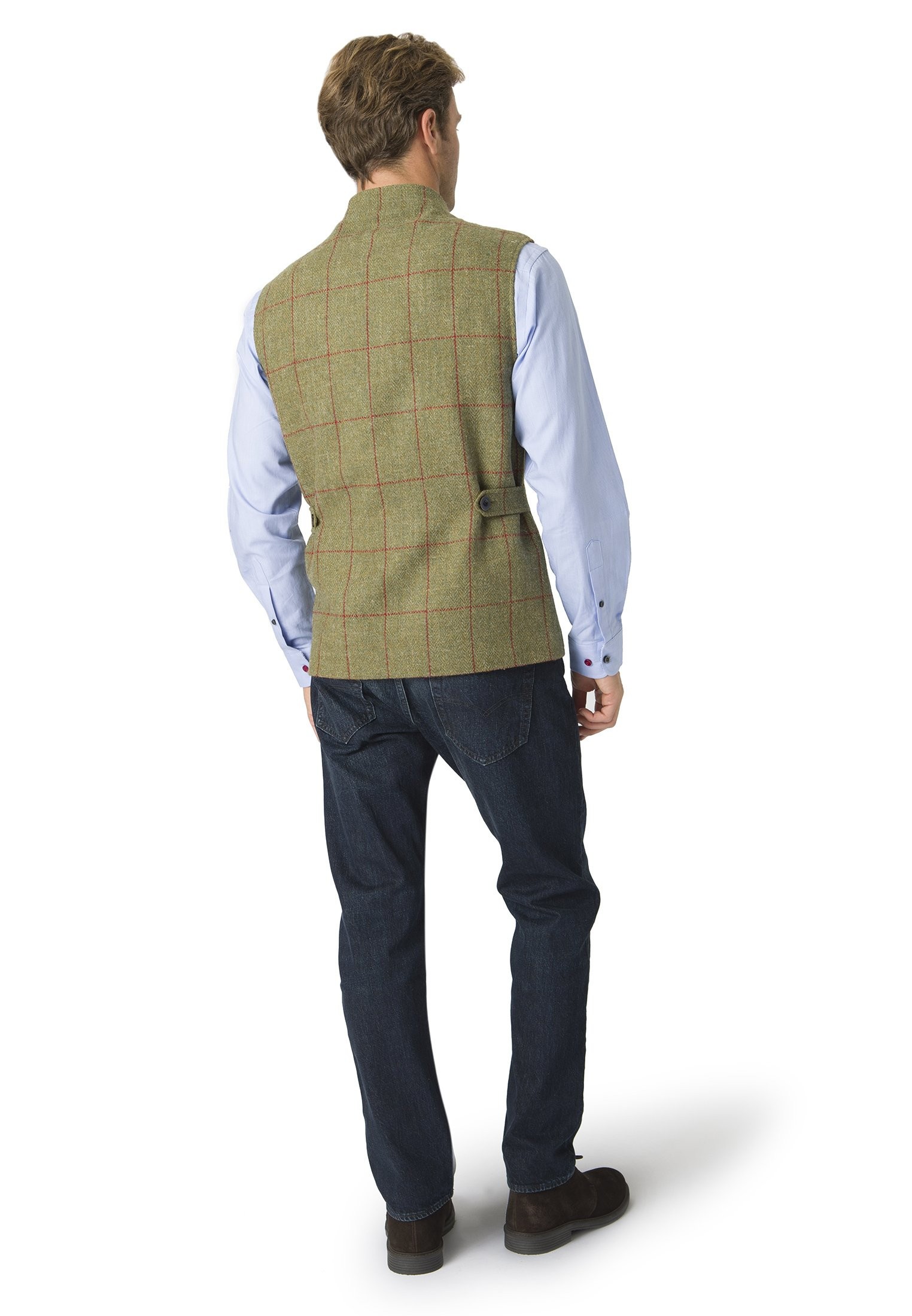 Dalbeg Harris Tweed Country Gilet