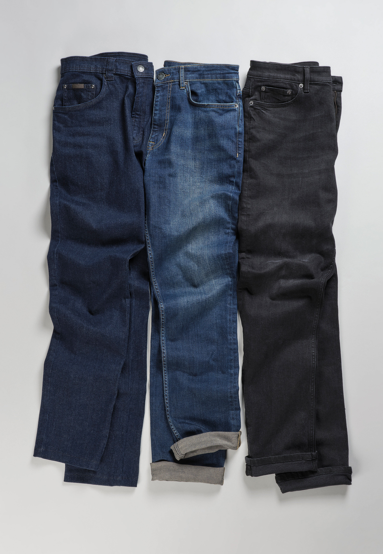 Black Classic and Tailored Fit Denim Jeans