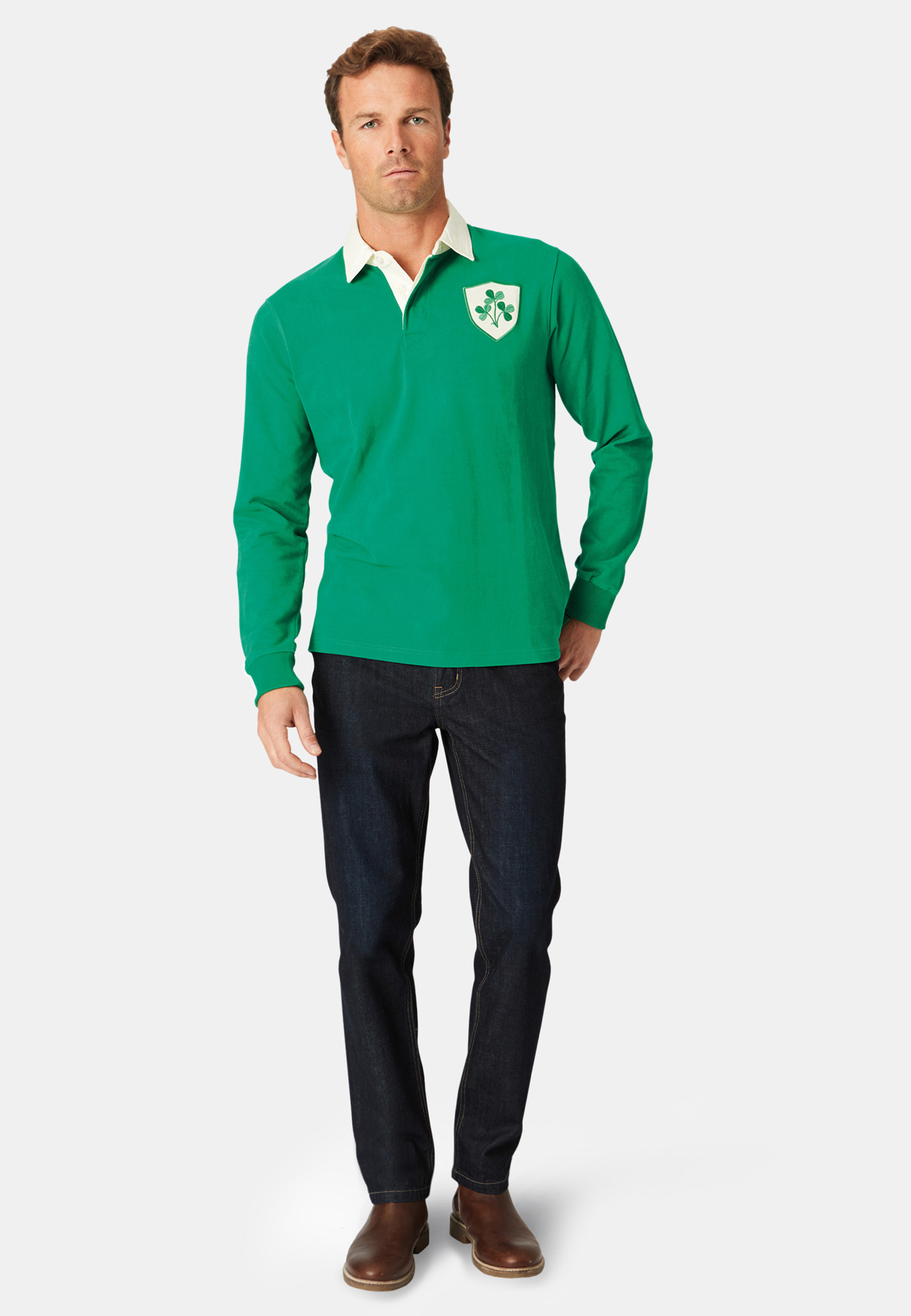 Ireland Limited Edition Heritage Rugby Shirt
