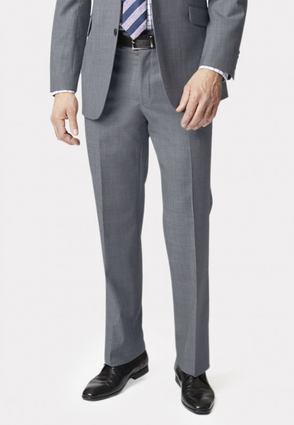 Grey Sharkskin Dawlish Suit Trouser