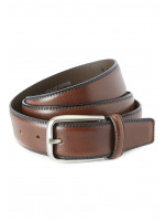 Smart Tan Leather Belt