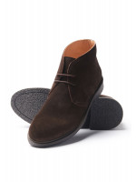Augusta Brown Suede Chukka Boot With Rubber Sole