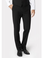Avalino Black Suit Trousers