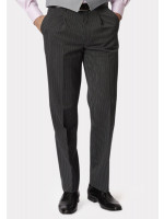 Classic Single Pleat Morning Suit Striped Trouser