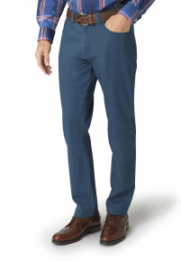 Sea Blue Basildon Tailored Fit Trouser