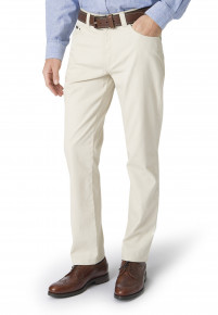 Stone Basildon Tailored Fit Trouser