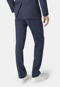 Constable Navy Tailored Fit Suit Trouser