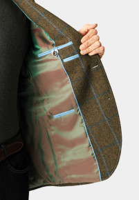 Greenwood Wool Check Jacket