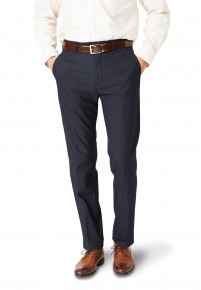 Dijon Navy Tailored Fit Three Piece Suit Trouser