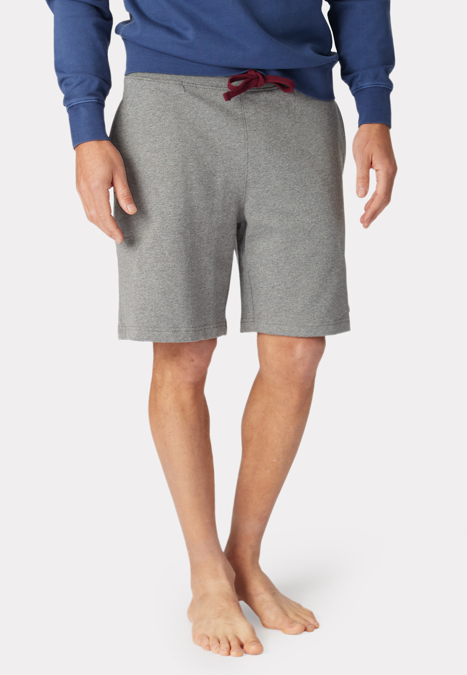 Newcastle Silver Grey Jog Shorts